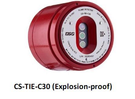 Đầu báo lửa chống nổ CS-TIE-C30 ChangSung