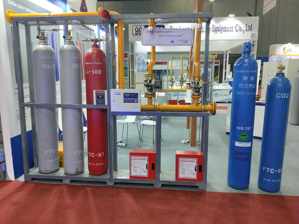 Bình chữa cháy khí CO2 Hàn Quốc