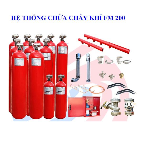 Hệ thống chữa cháy khí FM-200 Masteco