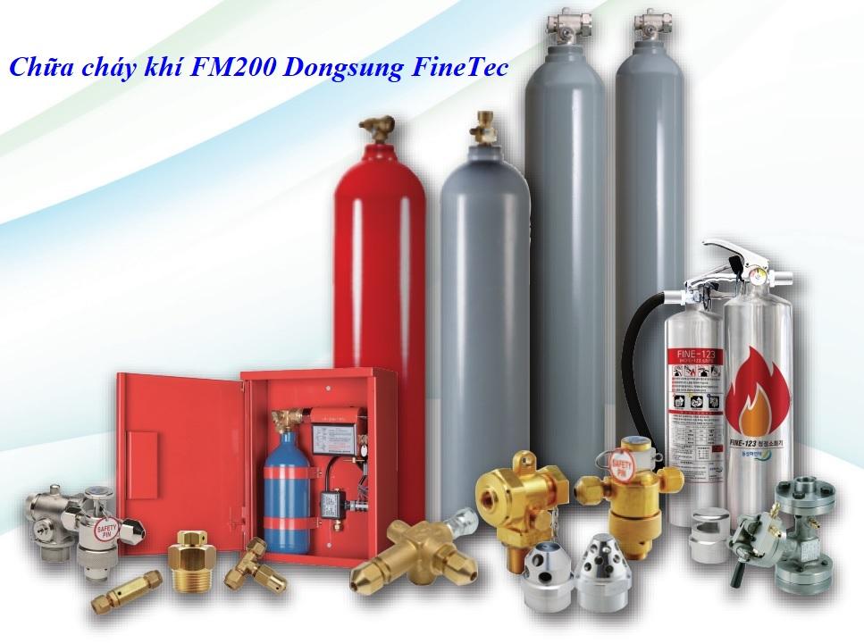 Chữa cháy khí FM200 Dongsung FineTec