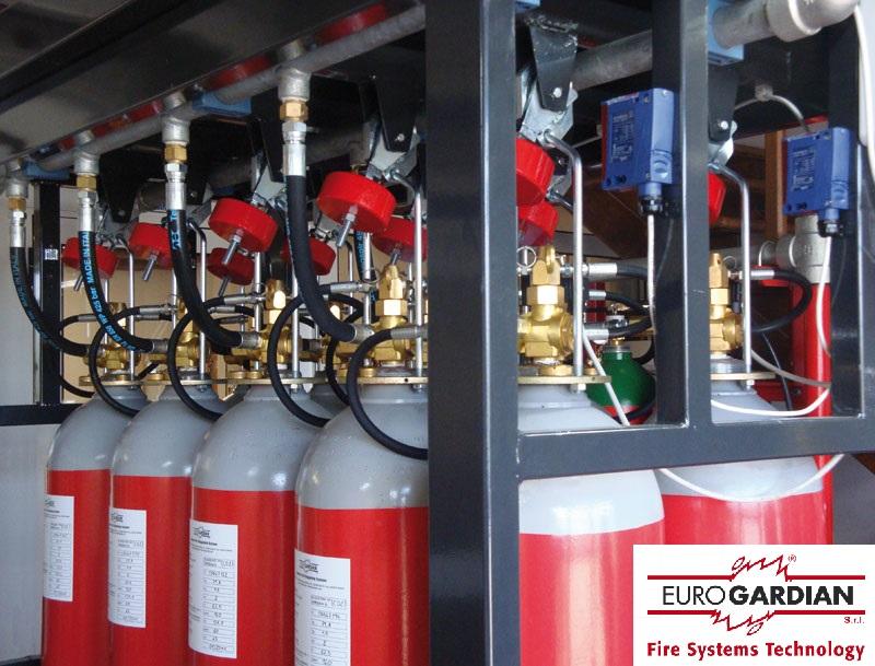 Hệ thống chữa cháy FM200 EUROGARDIAN